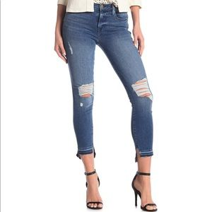 Frame high wasted skinny jeans